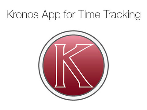 Kronos Time Tracker